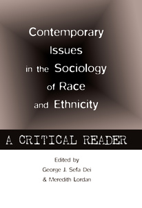 Contemporary Issues in the Sociology of Race and Ethnicity | Dodax.de