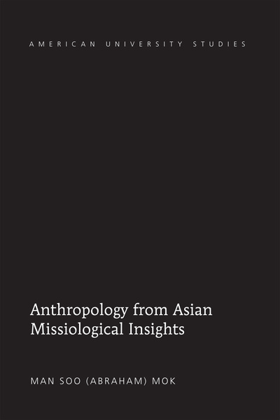 Anthropology from Asian Missiological Insights | Dodax.pl
