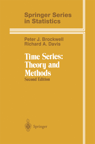 Time Series: Theory and Methods | Dodax.pl