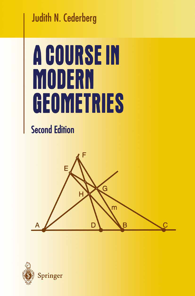 A Course in Modern Geometries | Dodax.at