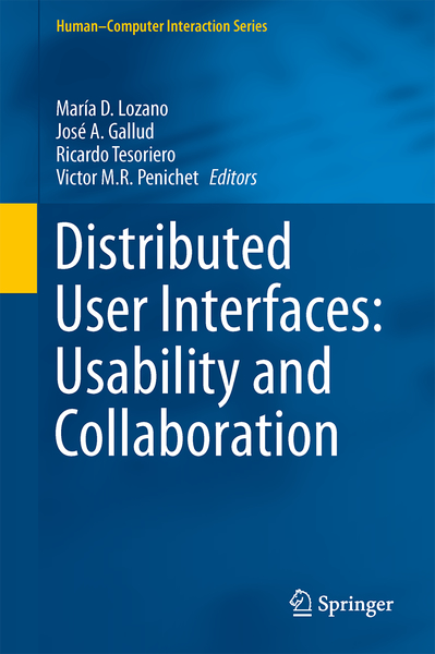 Distributed User Interfaces: Usability and Collaboration | Dodax.nl