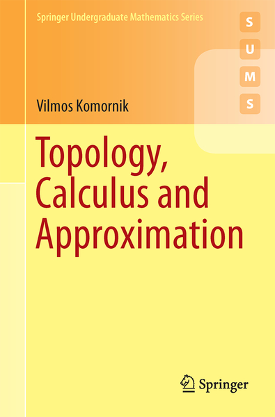 Topology, Calculus and Approximation   Dodax.de