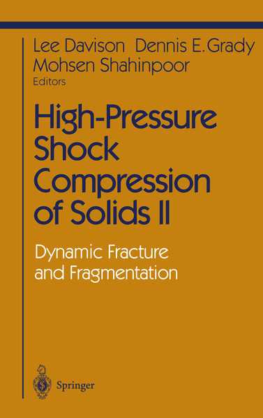 High-Pressure Shock Compression of Solids II | Dodax.co.uk
