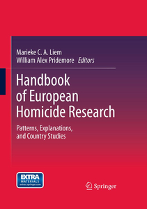 Handbook of European Homicide Research | Dodax.ch
