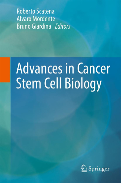 Advances in Cancer Stem Cell Biology | Dodax.ch