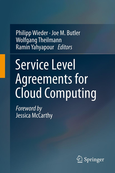 Service Level Agreements for Cloud Computing | Dodax.pl