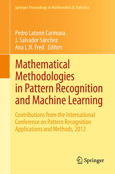 Mathematical Methodologies in Pattern Recognition and Machine Learning | Dodax.ch
