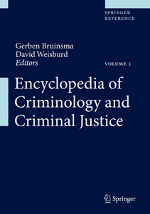 Encyclopedia of Criminology and Criminal Justice | Dodax.co.uk