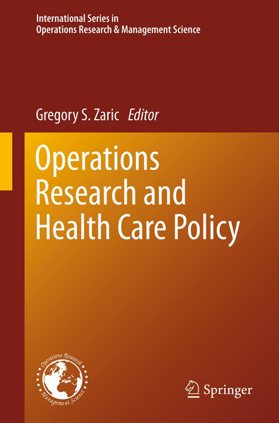 Operations Research and Health Care Policy   Dodax.ch