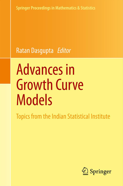 Advances in Growth Curve Models | Dodax.ch