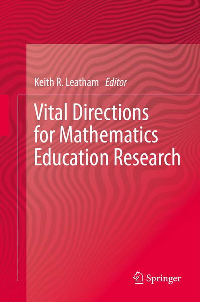 Vital Directions for Mathematics Education Research   Dodax.ch