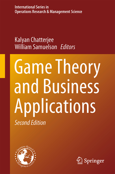 Game Theory and Business Applications   Dodax.ch