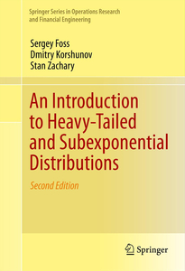An Introduction to Heavy-Tailed and Subexponential Distributions | Dodax.ch