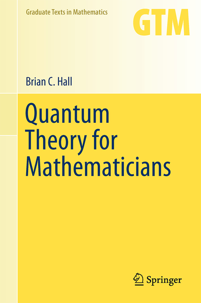 Quantum Theory for Mathematicians | Dodax.ch