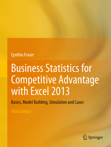 Business Statistics for Competitive Advantage with Excel 2013   Dodax.ch