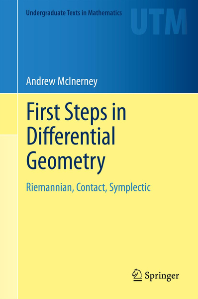 First Steps in Differential Geometry | Dodax.at
