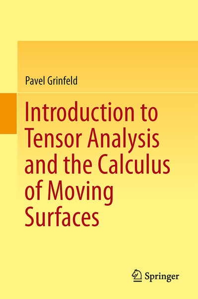 Introduction to Tensor Analysis and the Calculus of Moving Surfaces | Dodax.pl