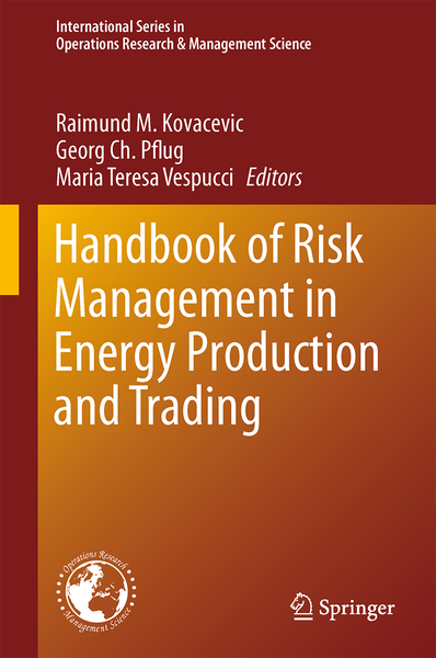 Handbook of Risk Management in Energy Production and Trading | Dodax.ch