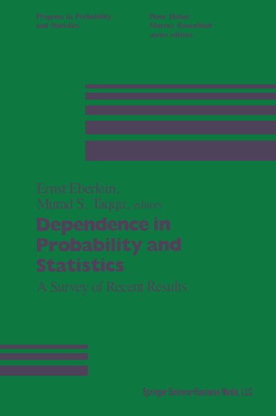 Dependence in Probability and Statistics | Dodax.ch
