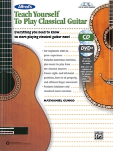 Alfred's Teach Yourself to Play Classical Guitar | Dodax.de