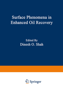 Surface Phenomena in Enhanced Oil Recovery | Dodax.pl