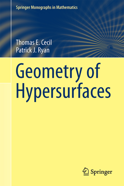Geometry of Hypersurfaces | Dodax.co.uk