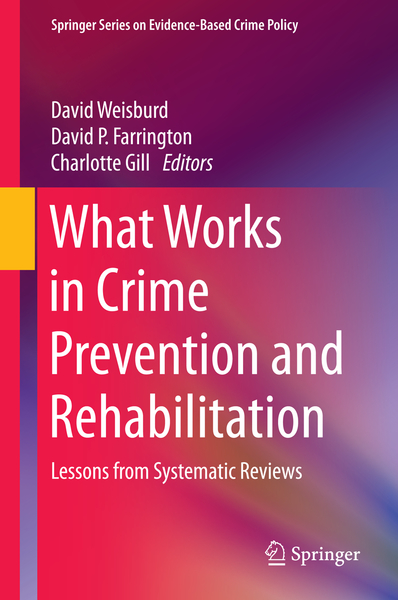 What Works in Crime Prevention and Rehabilitation | Dodax.ch
