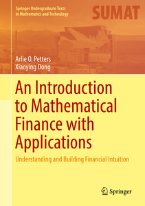 An Introduction to Mathematical Finance with Applications   Dodax.nl