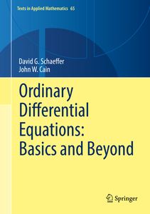 Ordinary Differential Equations: Basics and Beyond | Dodax.ch