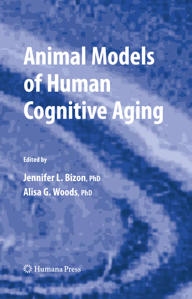 Animal Models of Human Cognitive Aging | Dodax.nl