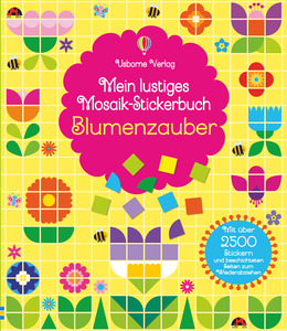 Mein lustiges Mosaik-Stickerbuch: Blumenzauber | Dodax.at