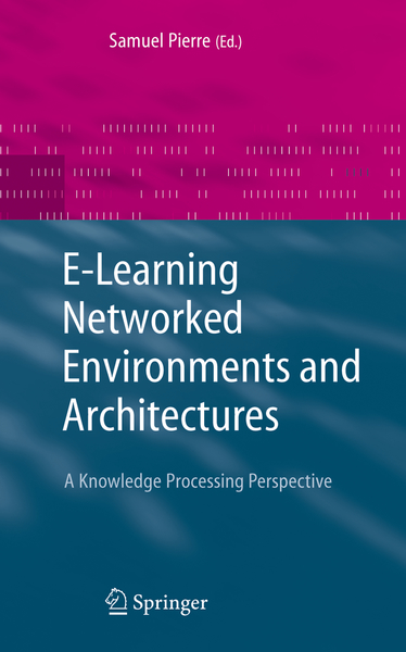 E-Learning Networked Environments and Architectures | Dodax.pl