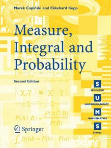Measure, Integral and Probability | Dodax.pl