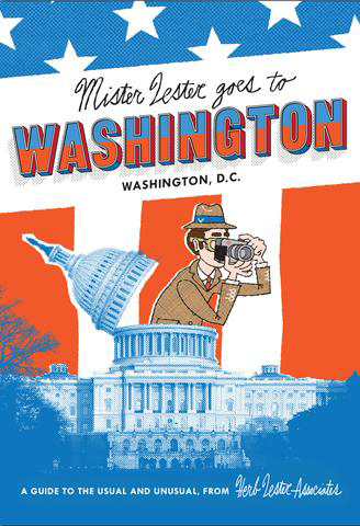 Mr Lester goes to Washington, D. C., map | Dodax.ch