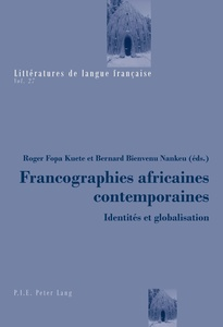 Francographies africaines contemporaines | Dodax.ch