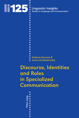 Discourse, Identities and Roles in Specialized Communication | Dodax.ch