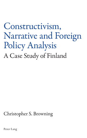 Constructivism, Narrative and Foreign Policy Analysis | Dodax.co.uk