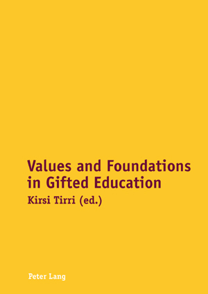 Values and Foundations in Gifted Education | Dodax.de