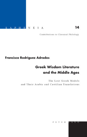Greek Wisdom Literature and the Middle Ages | Dodax.ch