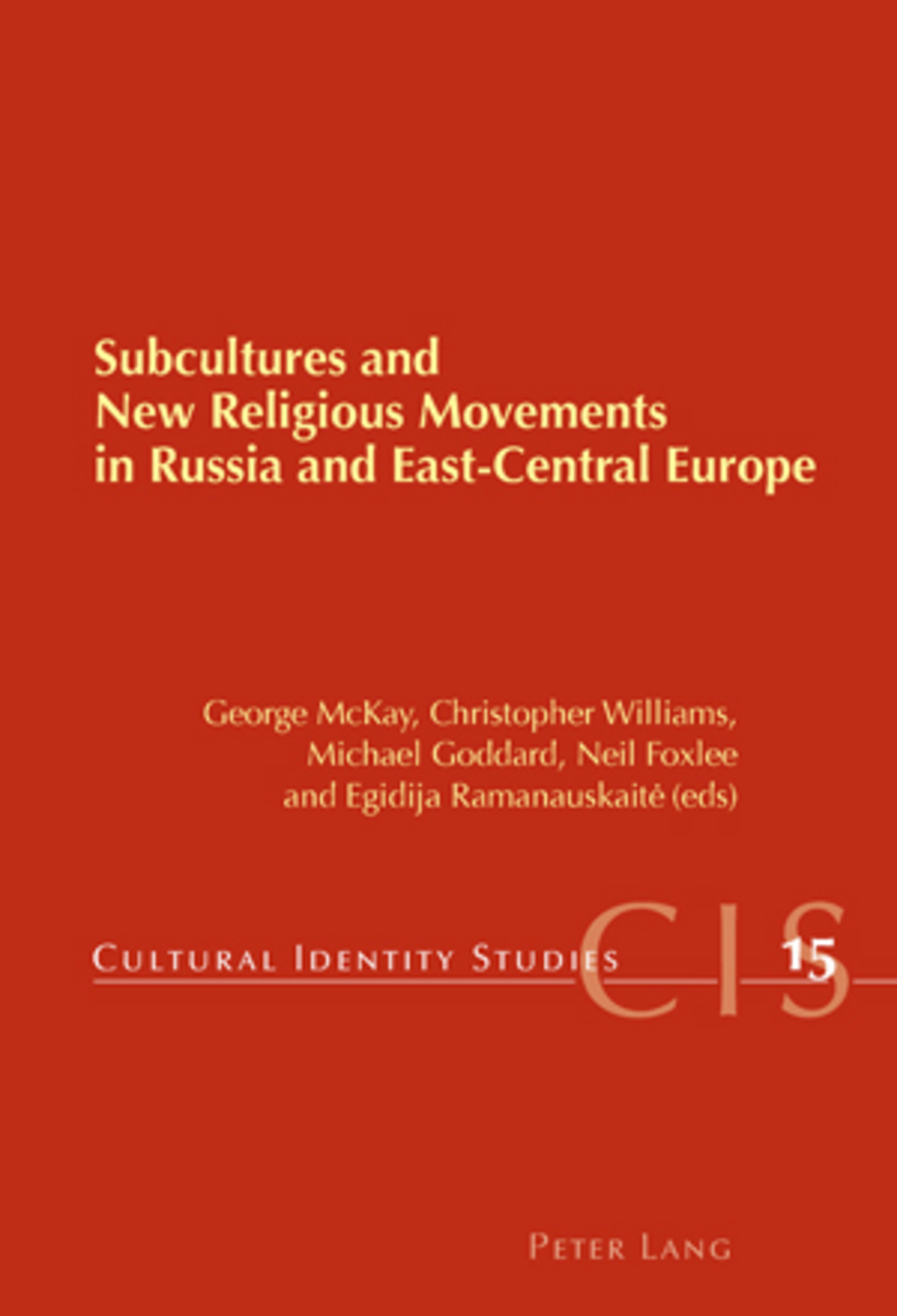 Subcultures and New Religious Movements in Russia and East-Central Europe   Dodax.pl