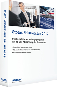Stotax Reisekosten 2018 | Dodax.co.uk