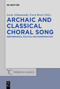 Archaic and Classical Choral Song | Dodax.ch