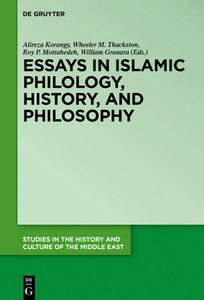 Essays in Islamic Philology, History, and Philosophy | Dodax.pl