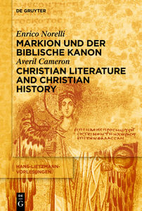 Markion und der biblische Kanon / Christian Literature and Christian History | Dodax.ch