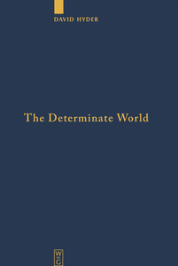 The Determinate World | Dodax.com