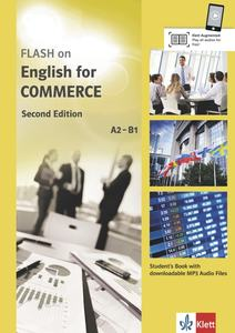 Flash on English for Commerce, Student's Book with downloadable MP3 Audio Files   Dodax.ch