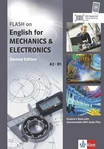 Flash on English for Mechanics & Electronics, Student's Book with downloadable MP3 Audio Files   Dodax.ch