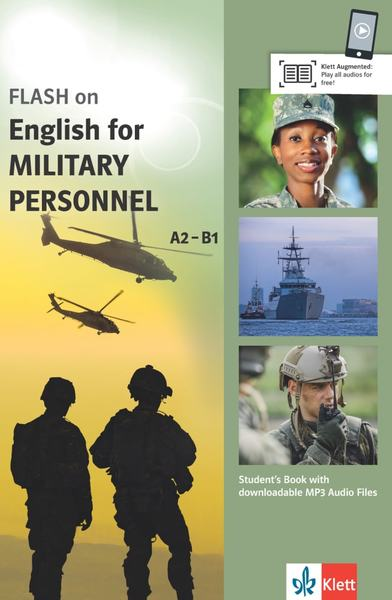 FLASH on English for MILITARY PERSONNEL A2-B1 | Dodax.nl