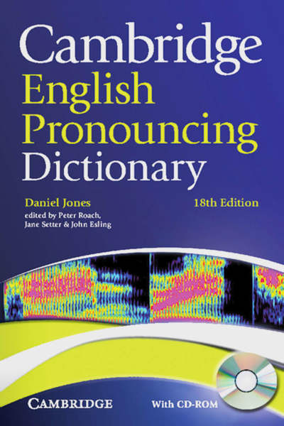 Cambridge English Pronouncing Dictionary, w. CD-ROM | Dodax.ch