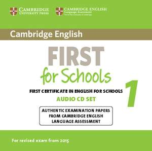 Cambridge English First for Schools 1 for updated exam | Dodax.es